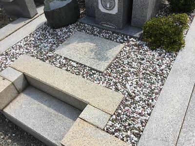 お墓清掃(後)